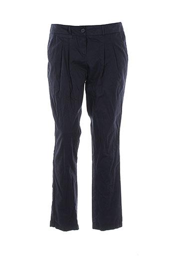 phildar pantalons femme de couleur bleu