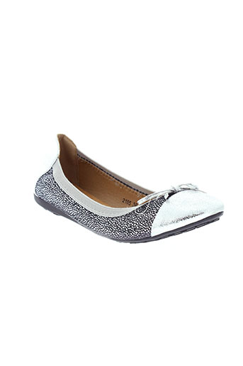 delires de fille chaussures femme de couleur gris