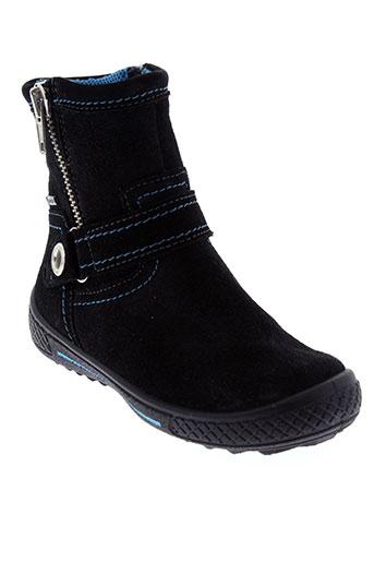 super et fit boots fille de couleur noir