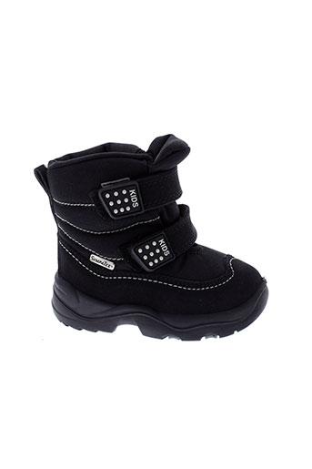 sympatex chaussures enfant de couleur noir