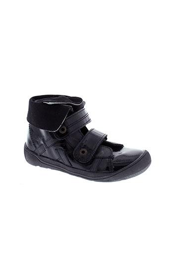 babybotte boots fille de couleur noir