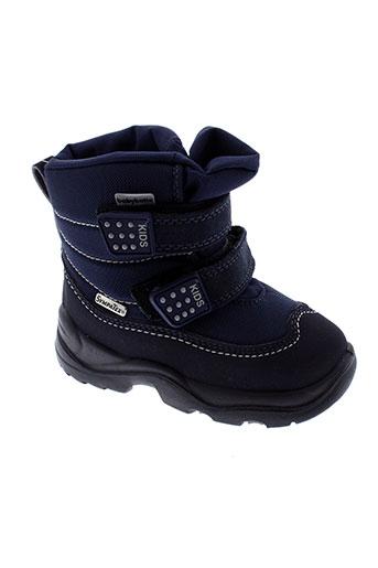 sympatex chaussures enfant de couleur bleu