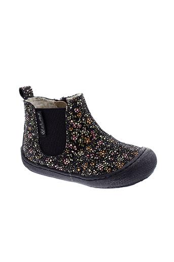 naturino boots fille de couleur noir