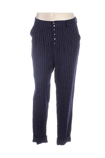 jayko pantalons et decontractes femme de couleur bleu