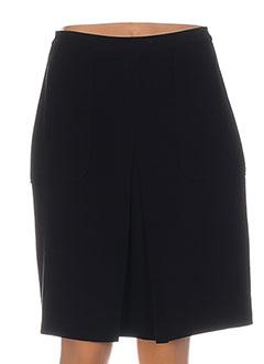 Jupe mi-longue noir NICE THINGS pour femme