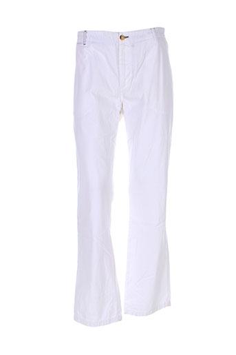adam pantalons et decontractes homme de couleur blanc