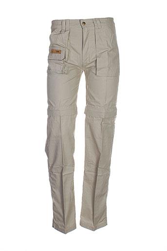 koulala pantalons femme de couleur beige