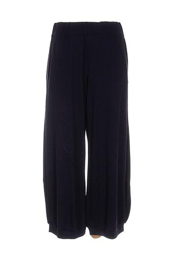 alembika pantalons femme de couleur bleu