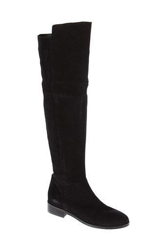 morgan bottes femme de couleur noir