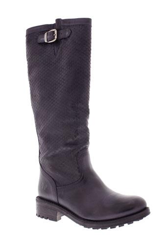 felmini bottes femme de couleur noir