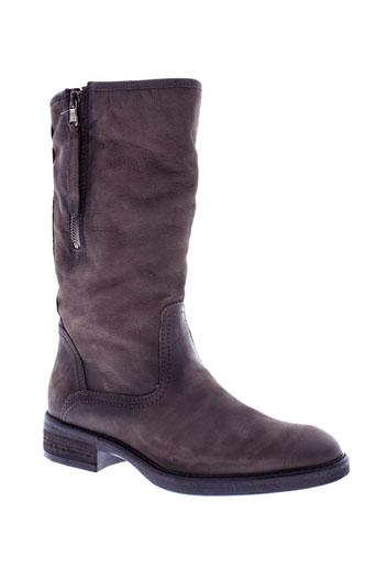 reqins bottes femme de couleur gris