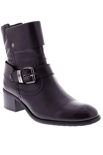 mam et zelle boots femme de couleur noir