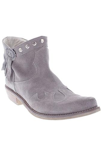 elle italia chaussures femme de couleur gris