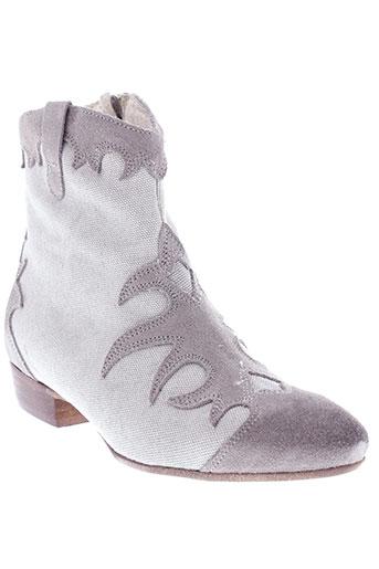 venezia chaussures femme de couleur gris