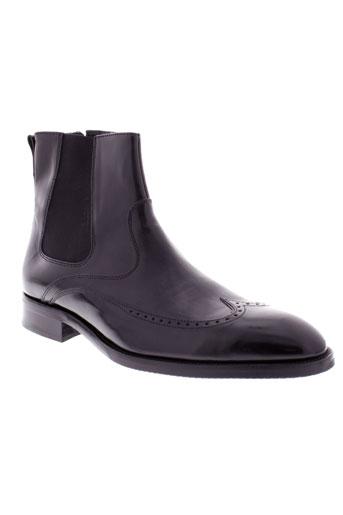 sioux boots homme de couleur noir
