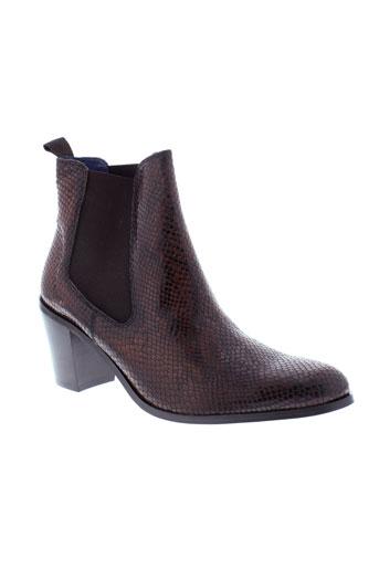 pinto et di et blu boots femme de couleur marron