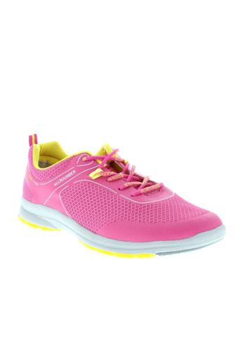 allrounder baskets femme de couleur rose