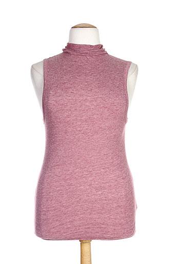 majestic chemises femme de couleur rose