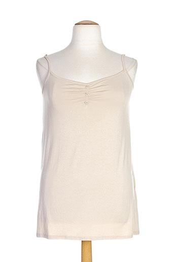 mellem chemises femme de couleur beige