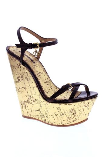 dsquared chaussures femme de couleur marron