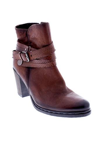 marco et tozzi bottines femme de couleur marron