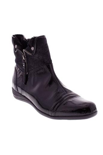 madison bottines femme de couleur noir