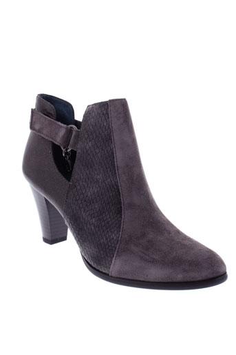 karston boots femme de couleur gris