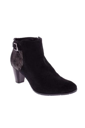ara boots femme de couleur noir