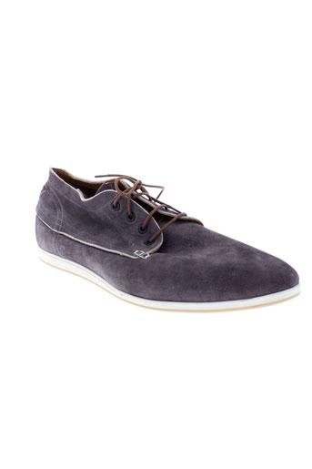 kost boots homme de couleur gris