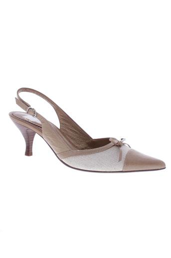 pierre chupin chaussures femme de couleur beige
