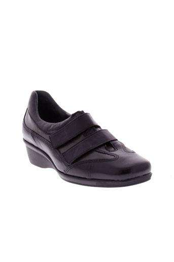 ombelle chaussures femme de couleur noir