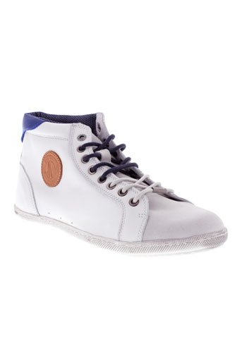 pepe jeans chaussures homme de couleur blanc