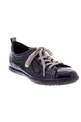 ecco chaussures femme de couleur noir