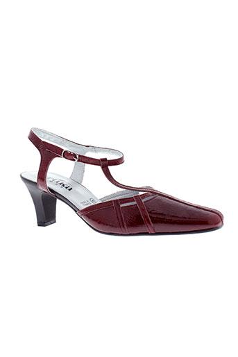 artika et soft sandales et nu et pieds femme de couleur rouge