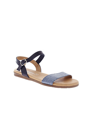 eva frutos chaussures femme de couleur bleu