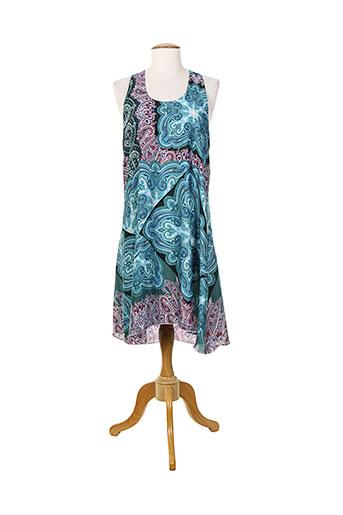 purple jam robes femme de couleur bleu