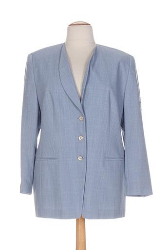 Veste casual bleu EUGEN KLEIN pour femme