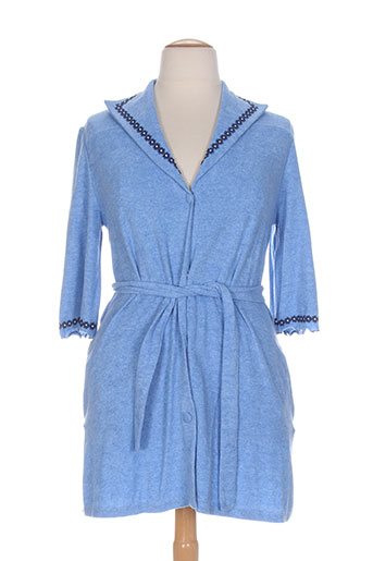 miss bisbigli vestes femme de couleur bleu