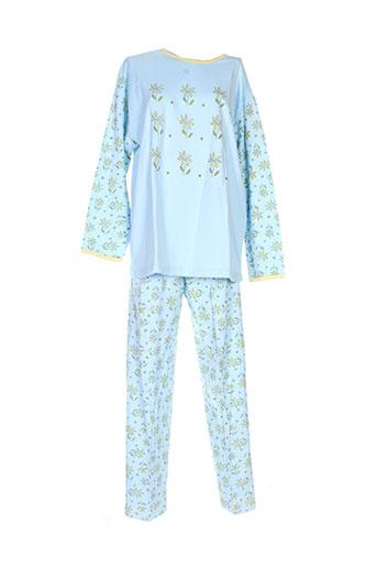 20 et 20 pyjamas et 1 femme de couleur bleu (photo)
