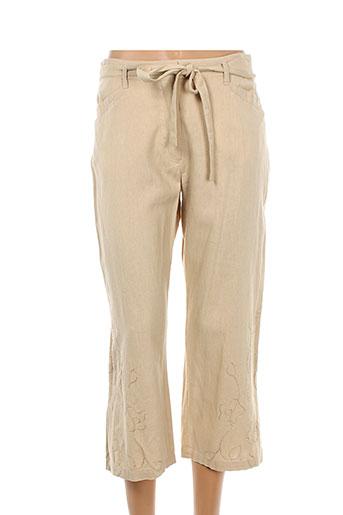 griffon pantacourts femme de couleur beige