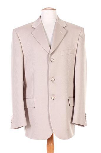 meynal vestes homme de couleur beige