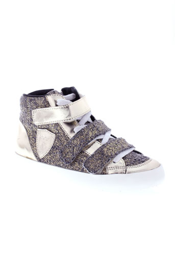 philippe model chaussures fille de couleur beige