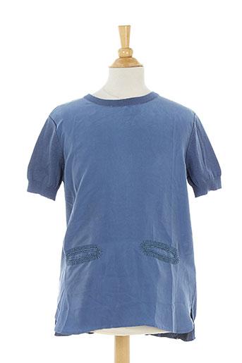 stella mccartney tuniques fille de couleur bleu