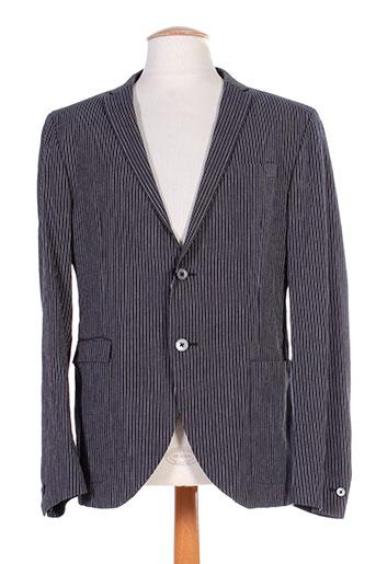 corneliani vestes homme de couleur bleu