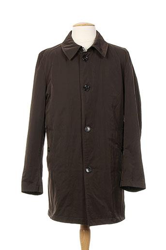 strellson manteaux homme de couleur marron