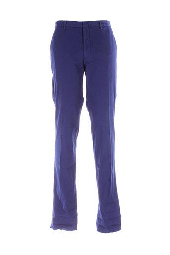 kenzo pantalons homme de couleur bleu