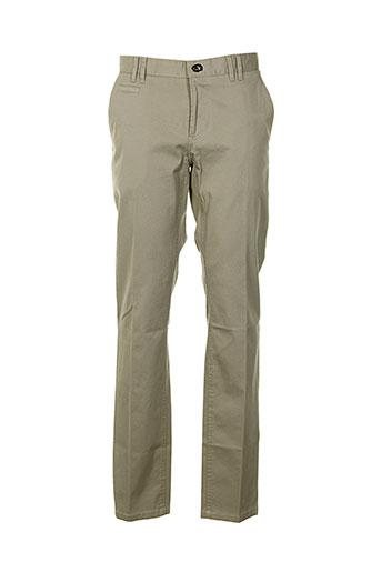 corneliani pantalons homme de couleur beige