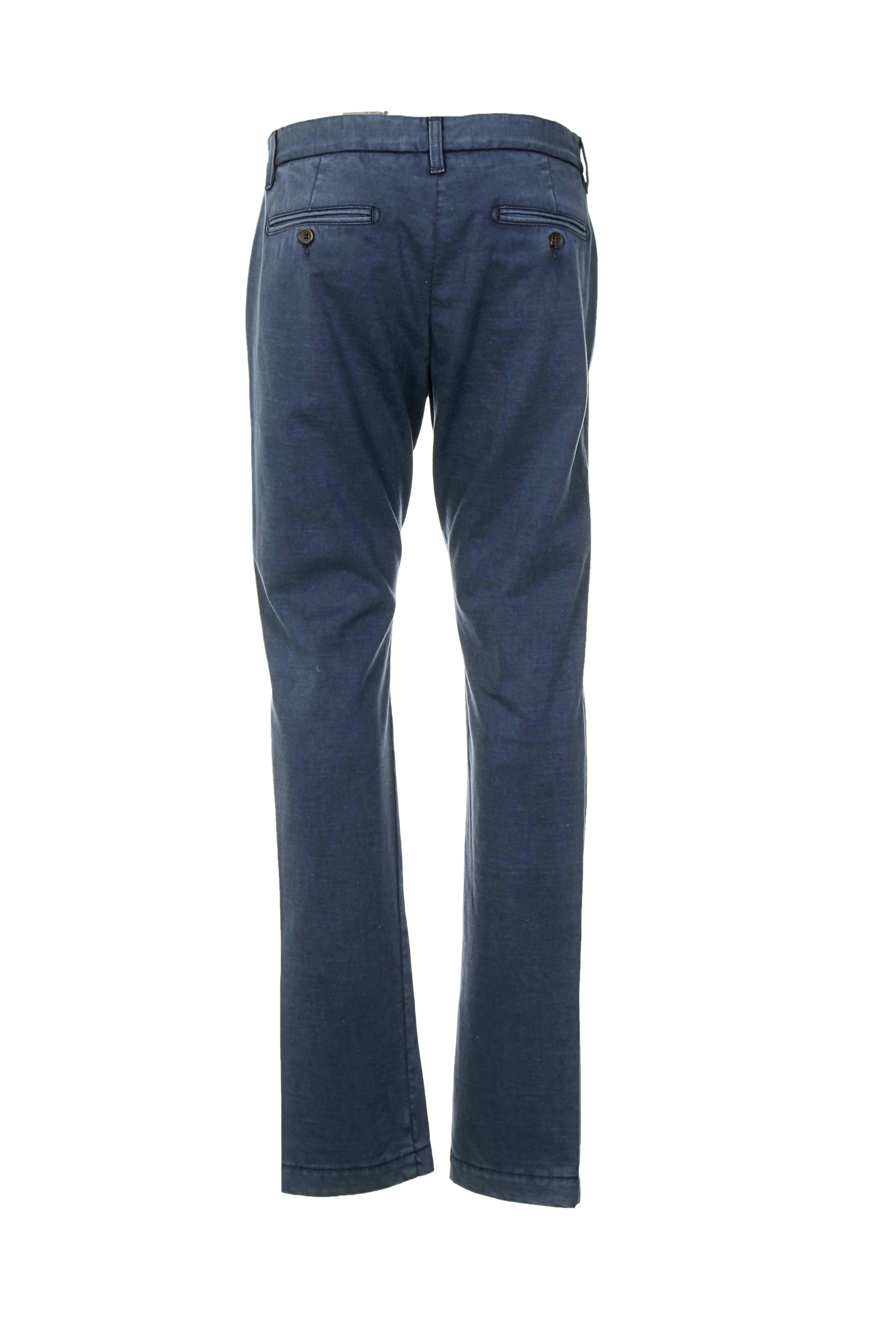 Closed Pantalons Citadins Homme De Couleur Bleu En Soldes Pas Cher 913751-bleu00