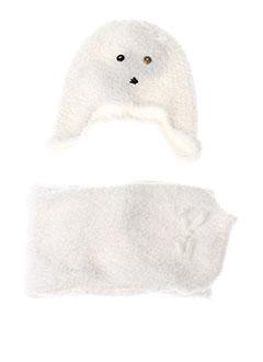 Echarpe blanc ABSORBA pour fille