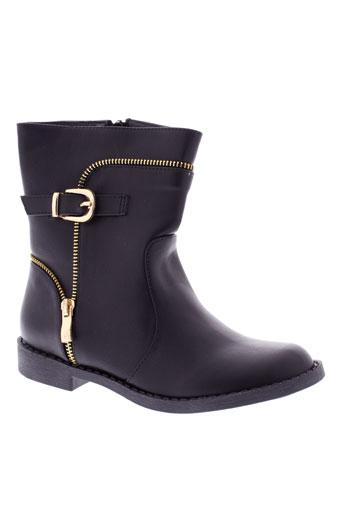 renda et kids boots fille de couleur noir